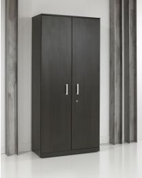 Klapdeurkast, directie serie, 200x90x42 cm, black oak