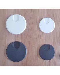 Kabeldoos diameter 60 of 80mm, kunststof