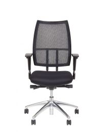 Aster EN-1335 bureaustoel, met mesh rug