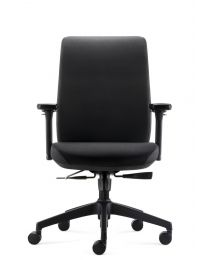 FYC 318 Ergo bureaustoel, EN1335, gestoffeerd