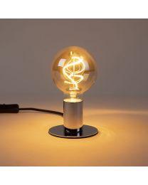 E27 lichtbron G95, LED goldline, dimbaar, 4W, 200 lumen, 2100K
