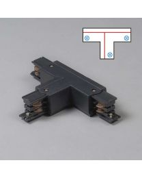 T-koppelstuk, links T, voor 3-fase rail