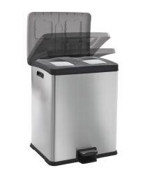 Rejoice Duo Recycle, 2x 30 liter prullenbak