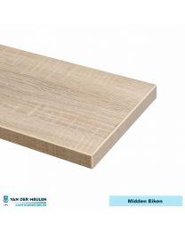 Rechthoek vergadertafel op X-poot, 200 x 100 cm