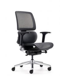 FYC 239 SYNCHRO3 bureaustoel, EN1335, met netweave zitting en rug