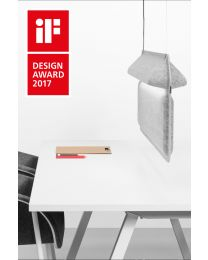 De Vorm AK 2 Workspace Divider Lamp Hanging