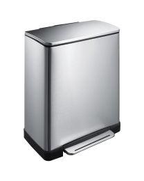 EKO E-Cube recycling pedaalemmer, 28+18 liter