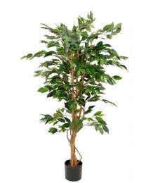 Kunstplant Ficus Benjamina, 150 cm, excl. sierpot