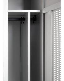 Schoon/vuil indeling garderobekast, 2 deuren