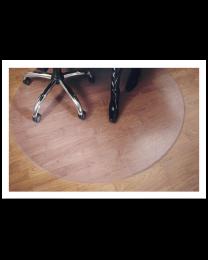 Vloermat ovaal, zonder nop, voor harde vloeren, 122 x 152 cm