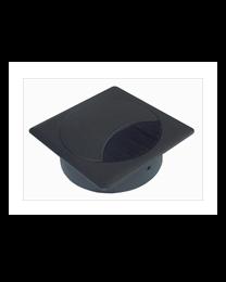 Kabeldoos, metaal design, diameter 80mm
