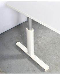 Robberechts slingerbureau 180x90 cm, lichtgrijs blad