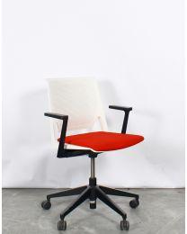 Haworth Comforto D6215 designstoel, verrijdbaar, upholstered zitting