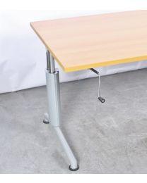 Vepa slingerbureau 180x80 cm, nieuw blad naar keuze