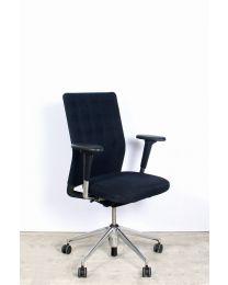 Vitra ID Trim bureaustoel, EN1335, zwart gestoffeerd, in zeer nette staat