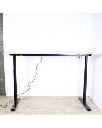 OMT elektrisch zit/sta bureau, 2-traps, diverse maten, nieuw blad naar keuze