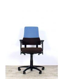 BMA Axia Office bureaustoel, NPR1813, bruin-blauw