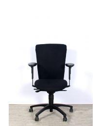 Dauphin bureaustoel, EN1335, zwart, nieuw gestoffeerd