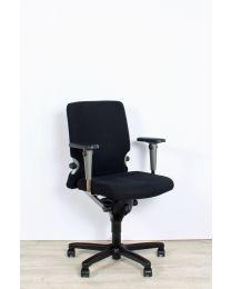 Haworth Comforto 77 bureaustoel, NPR1813, zwarte stoffering