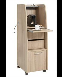 Koffietrolley, directie serie, 113x43x56cm, verrijdbaar