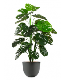 Kunstplant Monstera in sierpot Eggy - H130