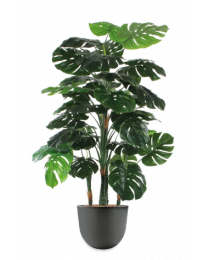 Kunstplant Monstera in sierpot Eggy - H145