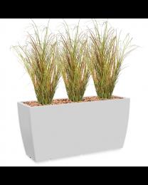 Kunstplant Siergras in sierpot Genesis Cassetta - H160