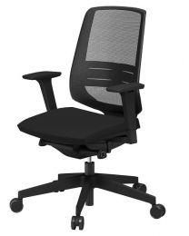 Light Up 250SL bureaustoel, EN1335, met netweave rug