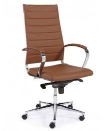 Luxor XL, luxe directie stoel, in 3 kleuren kunstleder