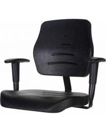 Werkstoel MAX200, heavy duty, rubberschuim