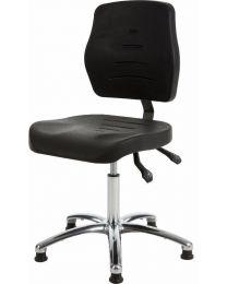 Werkstoel MAX267, heavy duty, rubberschuim