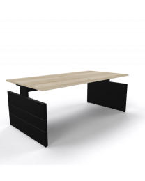 Nova bureau, 200 x 100 cm, hoogte instelbaar
