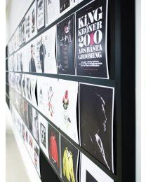 Akoestisch informatiebord, storyboard, 120x160x5 cm, geluidsabsorberend