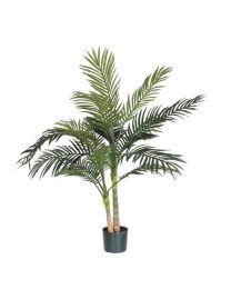 Kunstplant Palm Areca Golden Cane, 120 cm, excl. sierpot