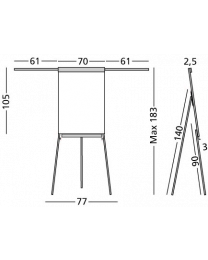 Flip-over Standaard Plus, magneethoudend