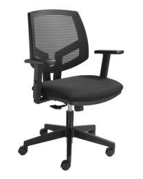 Costa 819 bureaustoel, met mesh rug