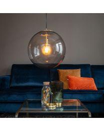 Glazen smoke bol hanglamp, Ø50cm