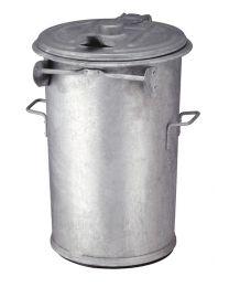 Staalverzinkte vuilnisemmer, 3 maten