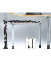 Kabel spiraal, universeel, maximale hoogte 130cm