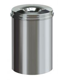 Vlamdovende prullenbak, 30 Liter