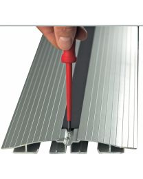 Vloergoot, aluminium, diverse lengtes
