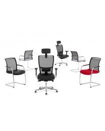 Lyra Net 200 design bureaustoel, EN1335, mesh rug